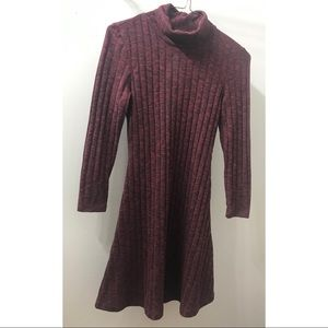 Red/Maroon American Eagle Sweater Dress